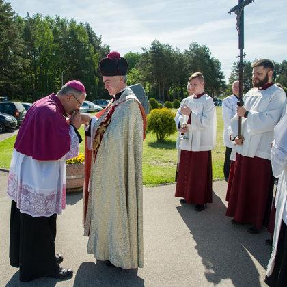 Sutvirtinimo sakramento teikimas  ir Kaišiadorių vyskupo ordinaro vizitacija 2017