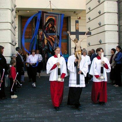 2003. Tituliniai parapijos atlaidai
