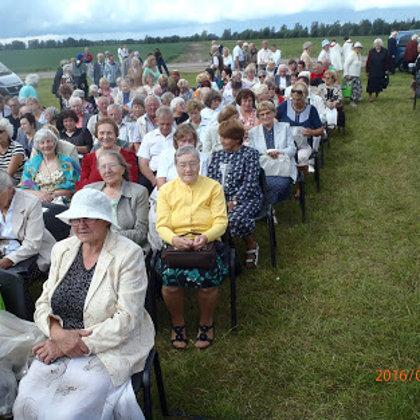 2016. Piligrimystė į Šiaulių vyskupiją