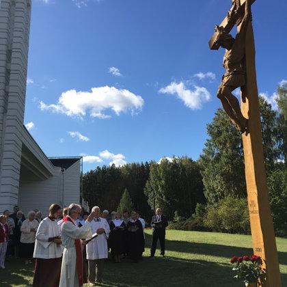 2018. Naujas kryžius